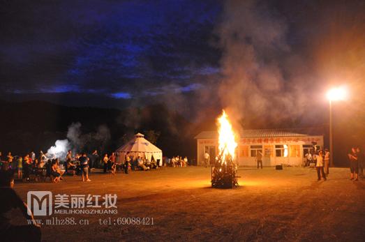 """2013东邵渠御皇李子——""""乐享生活""""篝火晚会"""