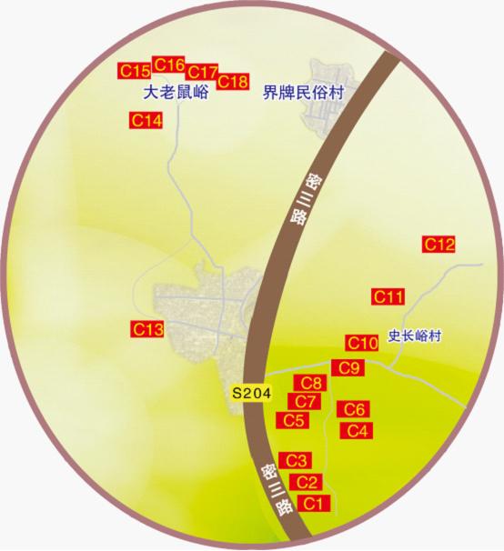 东邵渠御皇李子采摘地图