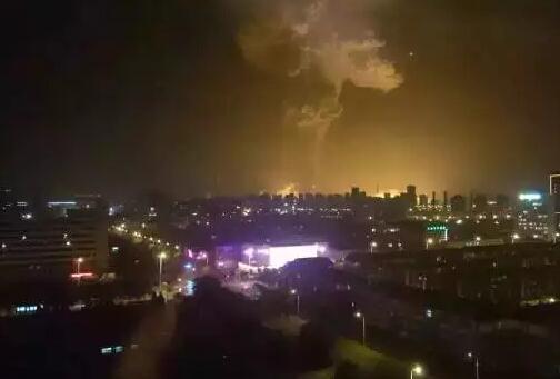 天津塘沽爆炸事件(最新)